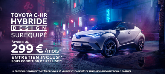 photo toyota chr hybride