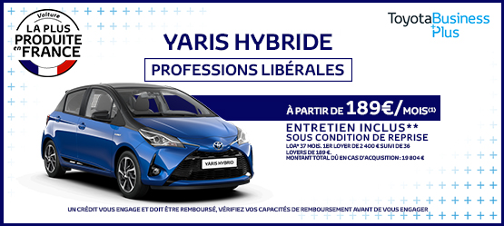 photo yaris hybride professions liberales team toy 75