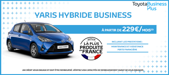 photo toyota yaris hybride business teamcolin viry chatillon